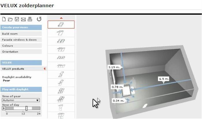 Velux 3d zolderplanner for 3d planner zolder