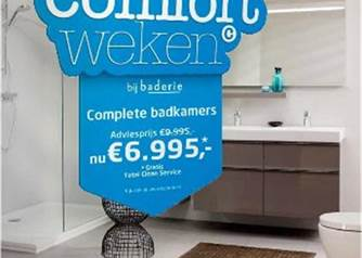 Kosten Badkamer Baderie : Baderie folder online